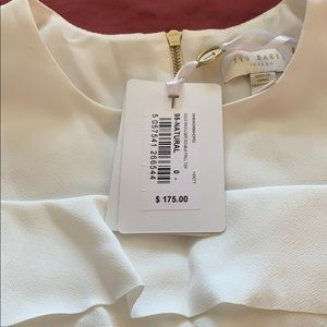 BNWT Cream Ted Baker Top Size 0